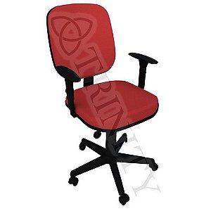 Cadeira Giratória Diretor Braço Regulável