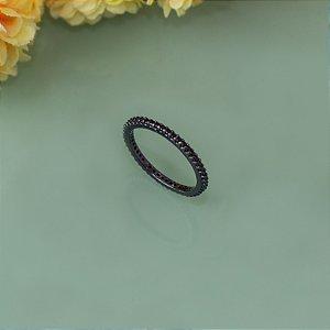 Anel ródio black cravejado com micro zircônias black (17)