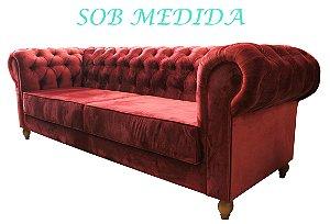 SOB MEDIDA - Sofá Chesterfield