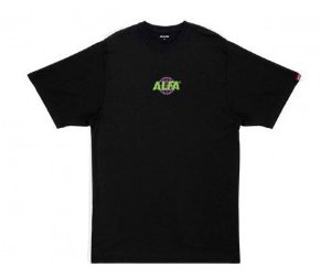 Camiseta Alfa World Preta