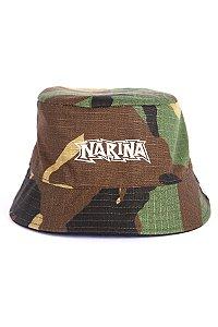 Bucket Dupla-face Narina Camo/Preto