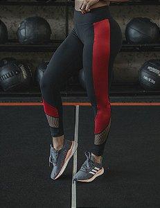Legging Fitness Cirre e Tela