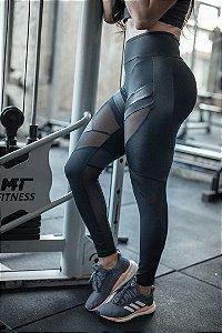 Legging Fitness Recortes Frontal