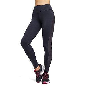 Legging Fitness Cintura Alta Tule Cirre Lateral