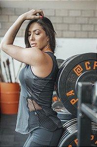 Camiseta Fitness Back Detail