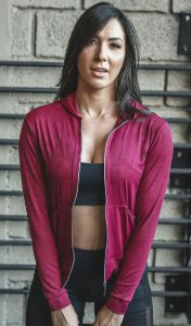 Jaqueta Fitness com Capuz