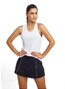 Conjunto Fitness Camiseta e Short Saia