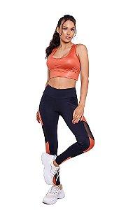 Conjunto Fitness Cintura Alta Terra