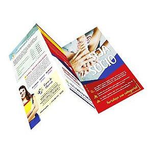 Folder A4 | Personalizado  com 1 ou 2 dobras
