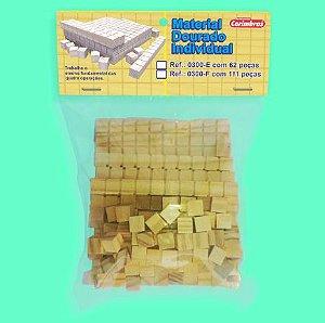Material Dourado Individual - Solapa