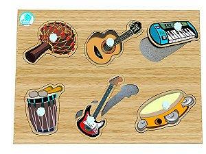 Quebra-Cabeça Pinos Instrumento