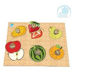 Quebra-Cabeça Pinão Fruta