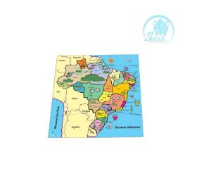 Quebra-Cabeça Mapa Estados