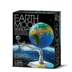 Kit Modelo de Terra e Lua