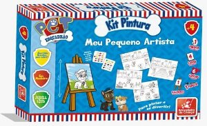 Kit Pintura - Esquadrão Pet