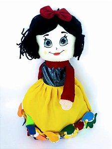 Boneca branca de neve vira bruxa/príncipe