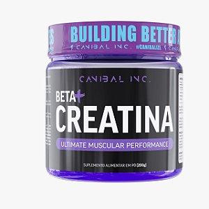 Beta Creatina em pó 200g - Canibal