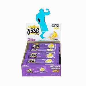 Caixa Barra de Cereal Gods Bar 40g - Sabor Banana 12 Unids