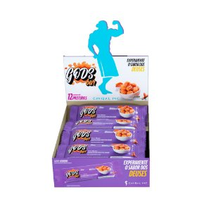 Caixa Barra de Cereal Gods Bar 40g - Sabor Churros 12 Unids