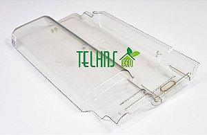 Kit 18 Telhas Transparente Romana Reta-BarroBelo-Mundi-Laranjal-Lopes