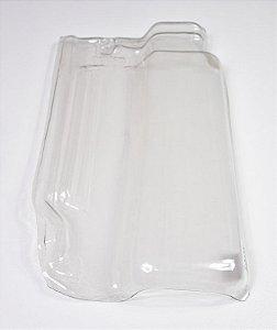 Kit 30 Telhas Transparente pet Romana R-14
