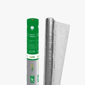 Manta Térmica Telhado 1 Face Alumínio 50m² Sb3 Brasfoil