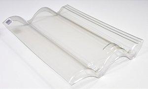 Kit 25 Telha Transparente plastica Coppo Veneto / Eurotop