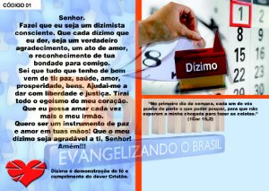 Carteirinha do Dízimo