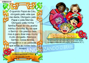 Carteirinha do Dízimo Mirim
