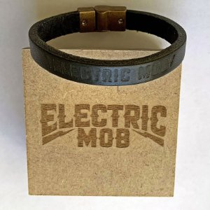 Pulseira couro Electric Mob by Vulcan