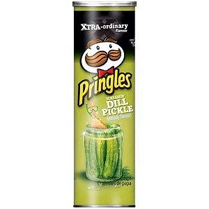 Batata Chips Pringles Screamin' Dill Pickles - Pickles 158g