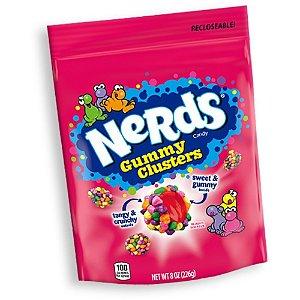 Bala Nerds Gummy Clusters - Goma Com Nerds Em Volta 141g