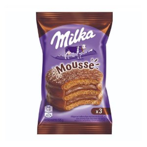 Alfajor Milka Mousse Chocolate Ao Leite 55g