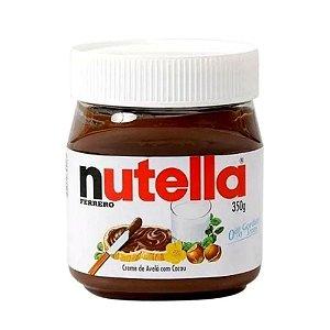 Nutella Creme De Avelã Ferrero Pote Vidro Sem Glúten 350g