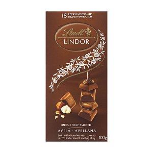 Chocolate Lindt Hazelnut Lindor Avela Cremoso 100 g