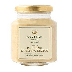 Creme De Pecorino Com Trufa Branca Savitar 180 Gr