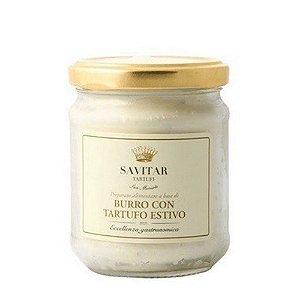 Manteiga Fresca Com Trufas Negras Savitar 160 Gr