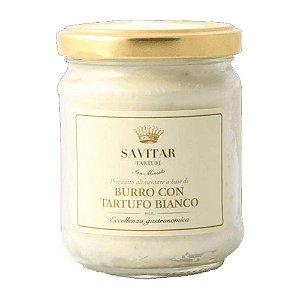 Manteiga Fresca Com Trufa Branca Savitar 160 Gr