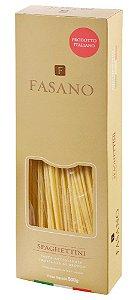 Macarrão Spaghettini Fasano Importado Italia 500G