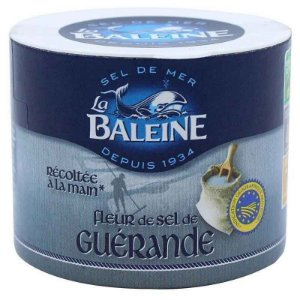 Flor de Sal de Guerande França La Baleine 125g
