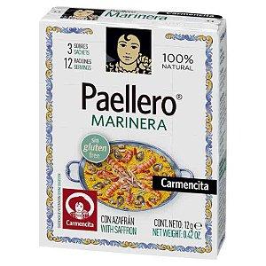 Tempero Espanhol Paellero Carmencita Marinera 12g p Paella