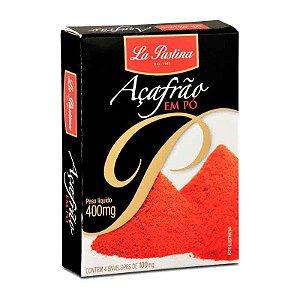 Açafrão Espanhol Verdadeiro em Pó La Pastina Paella 0,4g