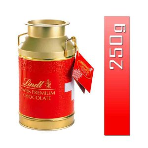 Chocolate Lindt Suiço Gold Can Lata Bombom Lindor 250 gr