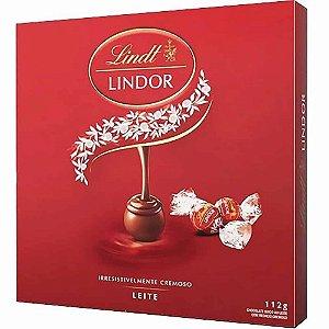 Chocolate Lindt Lindor Milk Balls Recheio Cremoso 112 gr