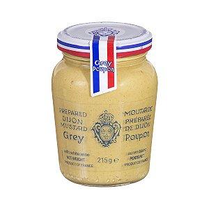 Mostarda Dijon ao vinho Branco Grey Poupon au Vin Blanc 215g
