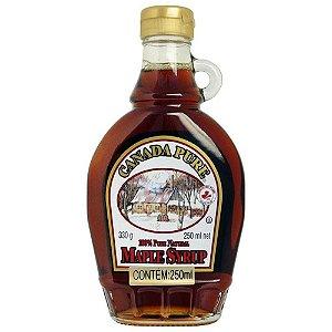 Maple Syrup Xarope de Bordo Canada Pure 100 %  250 ml
