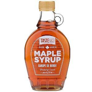 Maple Syrup Xarope de Bordo Taste & Co 100% Puro 250 ml