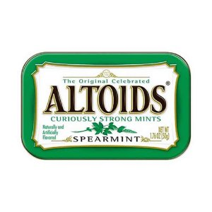 Balas Altoids Spearmint 50G Importadas EUA