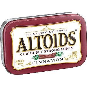 Balas Altoids Cinnamon Canela 50G Importadas EUA