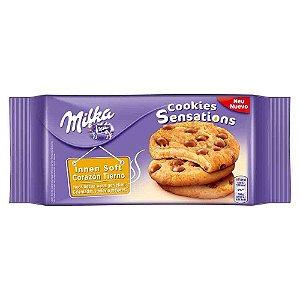 Biscoito Milka Cookies Chocolate Sensations 100 gr Importado